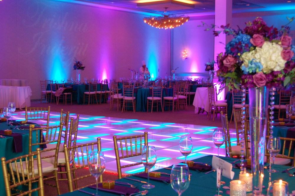 USA Dancefloor LED Lit Dance Floor Reception DOO WOP SHOP - How to make a lighted dance floor