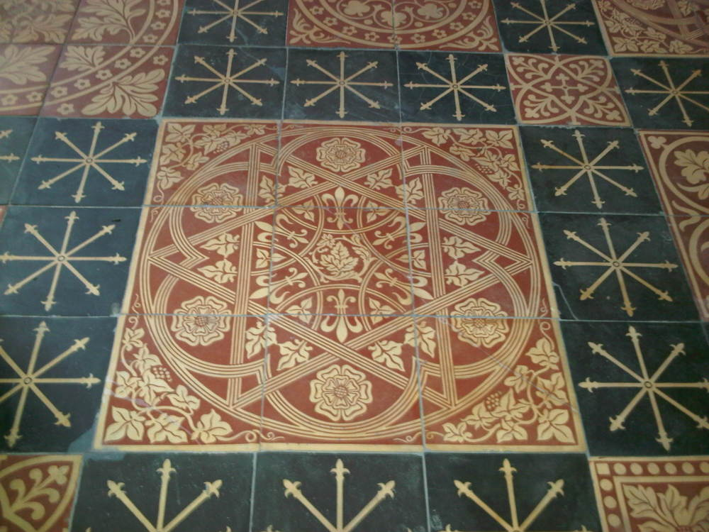 Handmade Vft Project St Nicholas Church Tile Source Inc