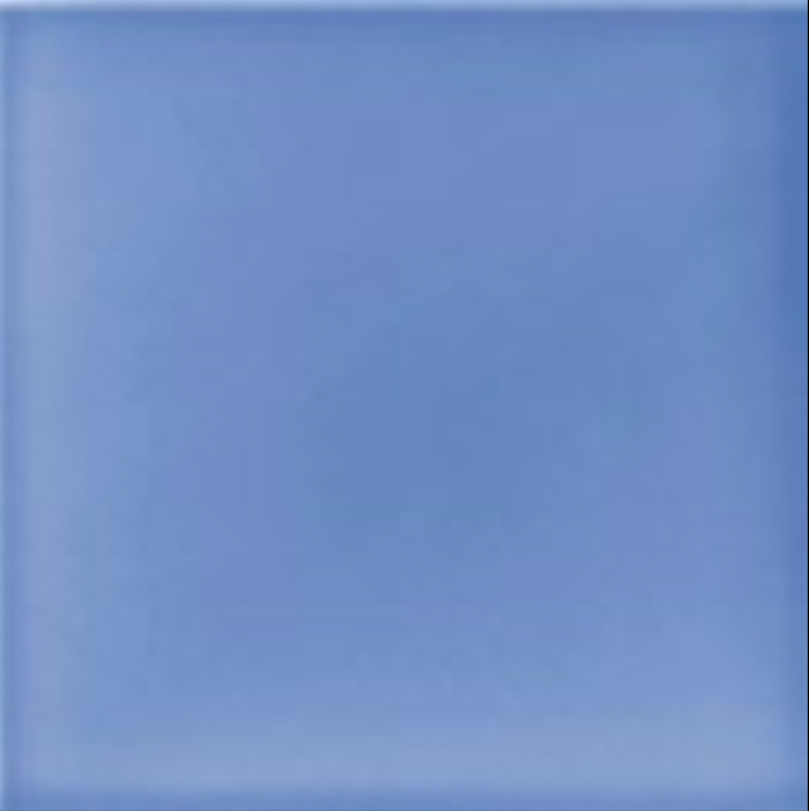 Art Deco Plain field tile 152x152mm Deco Blue