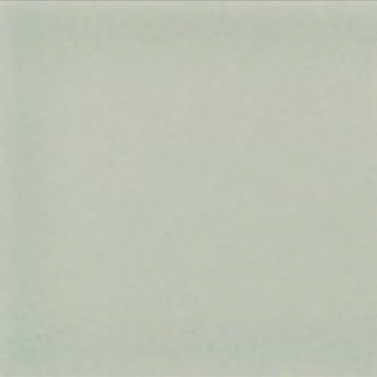 Art Deco Plain field tile 152x152mm Mist
