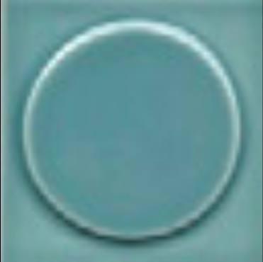 Art Deco tile Quatt 75x75mm Aqua