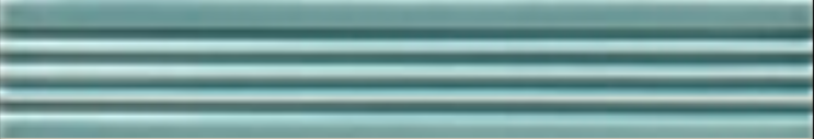 Art Deco tile Reeded Slip 25x152mm Aqua