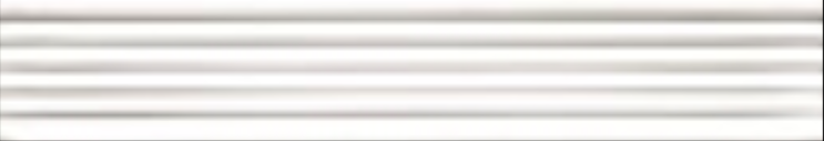 Art Deco tile Reeded Slip 25x152mm Bright White
