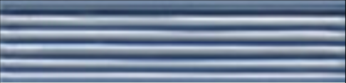 Art Deco tile Reeded Slip 38x152mm Deco Blue