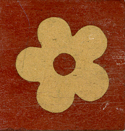 Encaustic Tile 38mmx38mm 1009