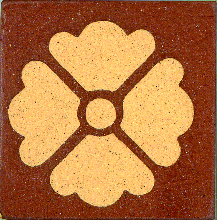 Encaustic Tile 38mmx38mm 1010