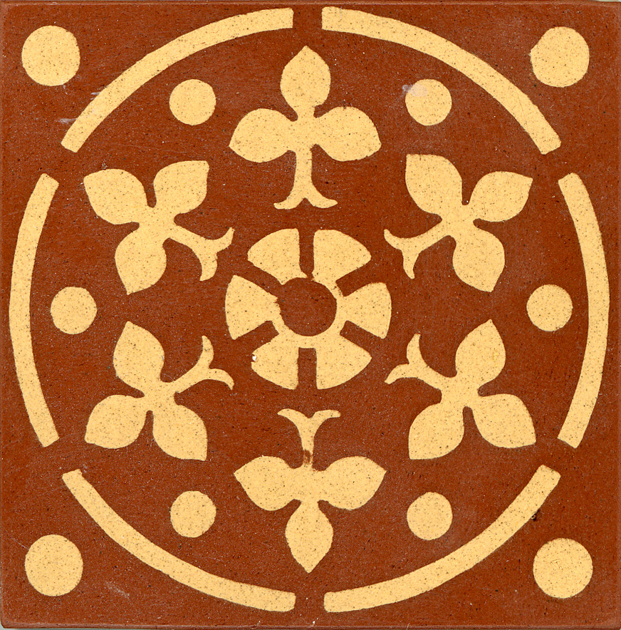 Encaustic Tile 75mmx75mm 3022a