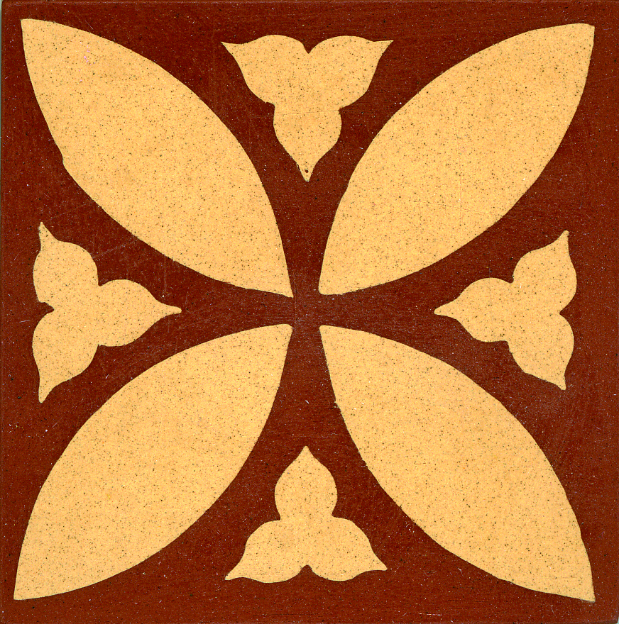 Encaustic Tile 75mmx75mm 3026