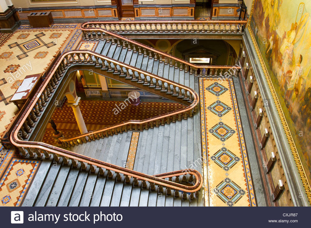 beautiful-staircase-and-tile-work-inside-the-iowa-state-capitol-building-CXJR87.jpg