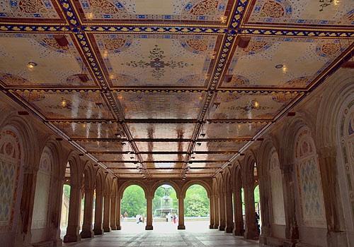 Bethesda Terrace, Central Park, NY