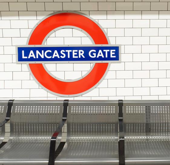 Lancaster Gate Station - Central Line