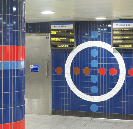 Oxford Circus Station - Victoria Line