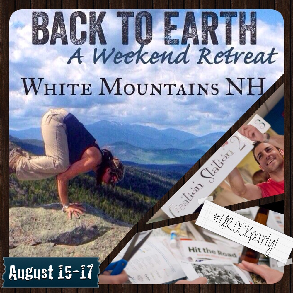 UROCK hits the road to the White Mountains of New Hampshire and is ready to GET BACK TO EARTH!