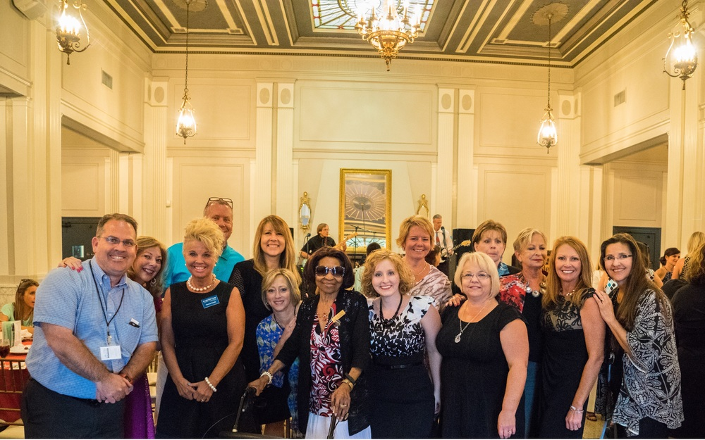 Mike Brown,  Carrie Orman , Teresa Doyle,  Kevin Ratliff , Yvonne Adkins,  Susan Lawson , Ginger Drummond,  Alisha Duvall , Amy Walter,  Lynn Hudley , Carolyn Franklin,  Cindy Boone ,  Tara Waters,  Pam Jeseo  ( Board Members Pictured Left to Right: )   not pictured:   Malana Eckert - Couty ,  Laura Miller,  Jamie Nance ,  Roz Shaffer , Tim Specht
