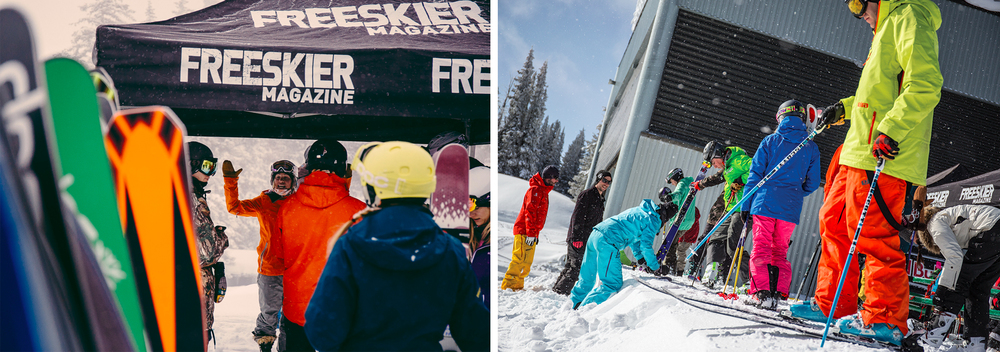 Freeskier Magazine Ski Test