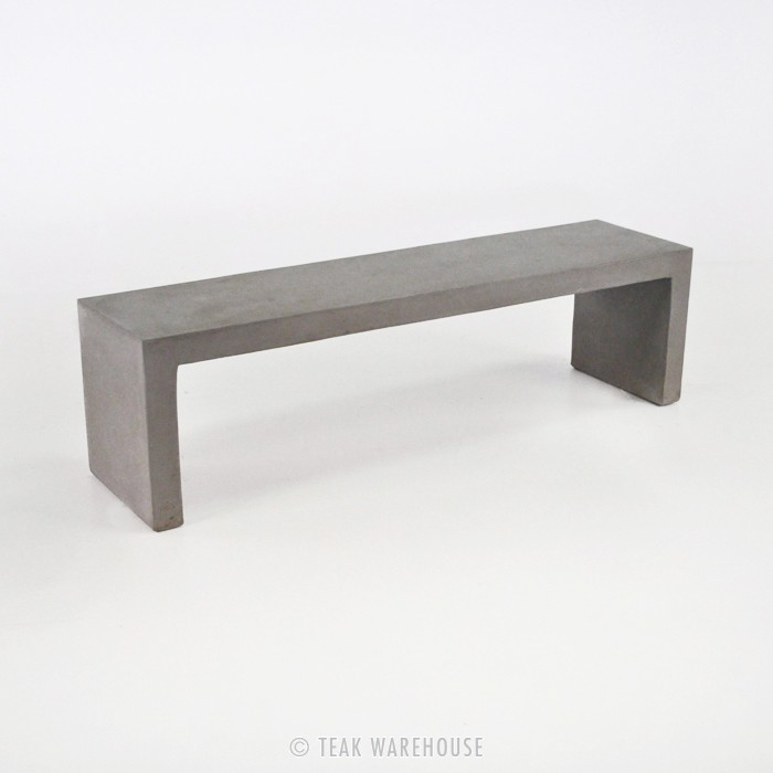 Raw Modern Lightweight Concrete Bench from Teak Warehouse  : format1000w from www.landstylist.com size 700 x 700 jpeg 35kB