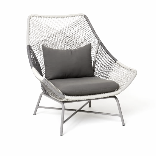 Grey Huron Chair from West Elm provides a graceful, light silhouette/$699  View Product Website