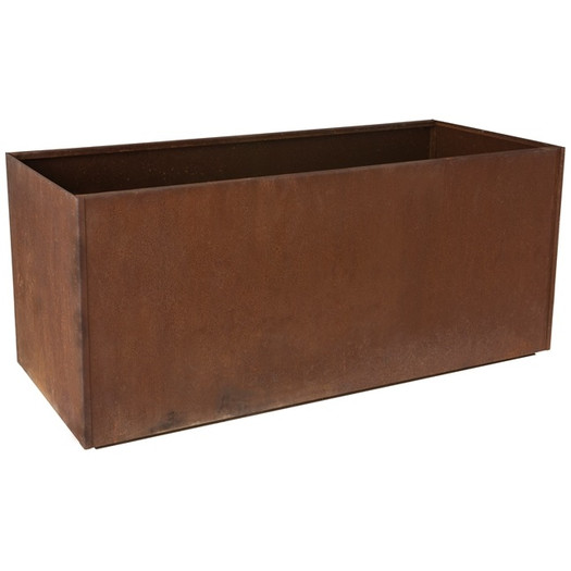 Rectangular Corten Steel Planter from AllModern/$311 View Product Website