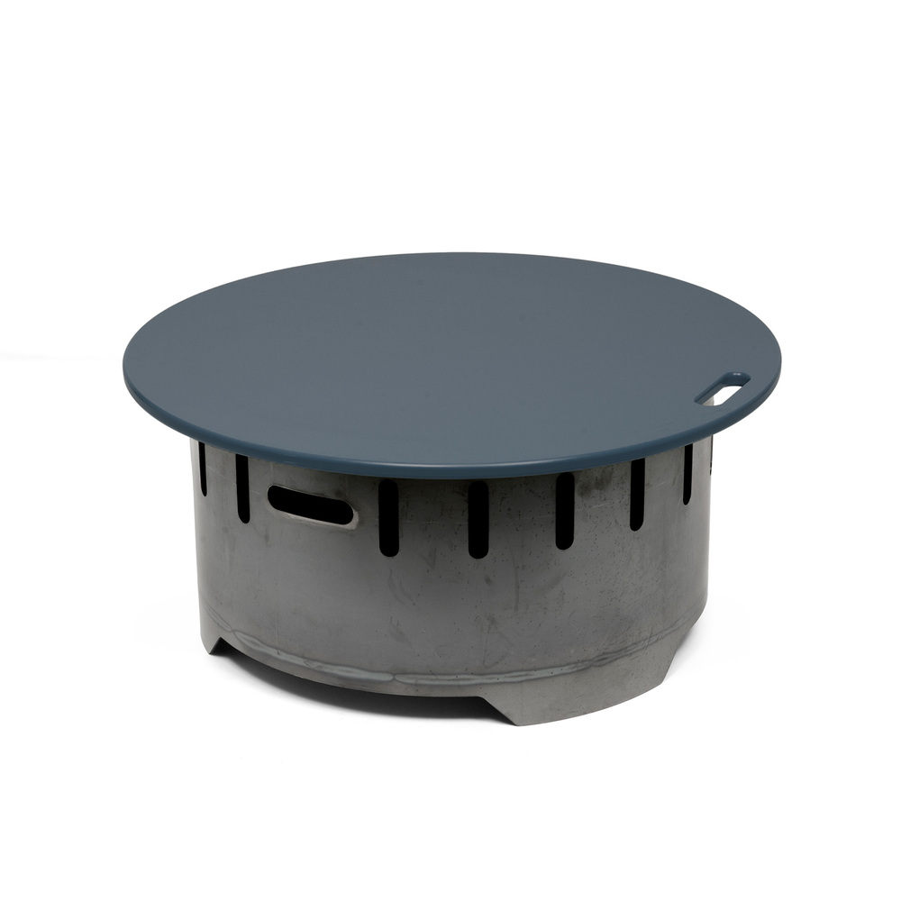 LOLL Steel Fire Ring/$758 View Product Website 3'x 1/8-inch-thick steel