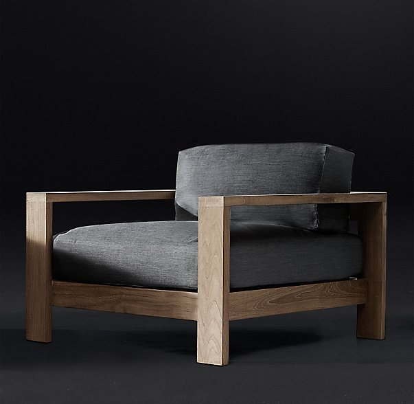 The Cypress Lounge Chair/$1295 Restoration Hardware
