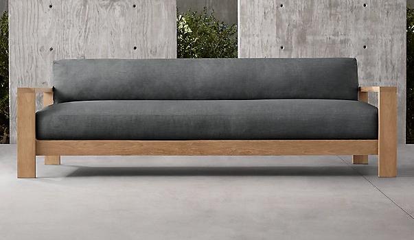 """Cypress Sofa/$2295 Restoration Hardware Dimensions: L86"""" x D 37"""" x H20.5"""""""