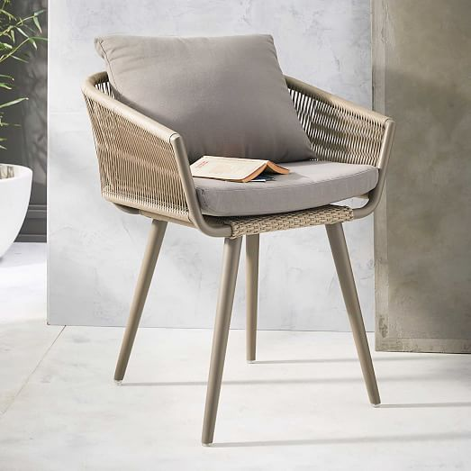 West Elm's Twisted Chair is great for a dining table or balcony West Elm/$199