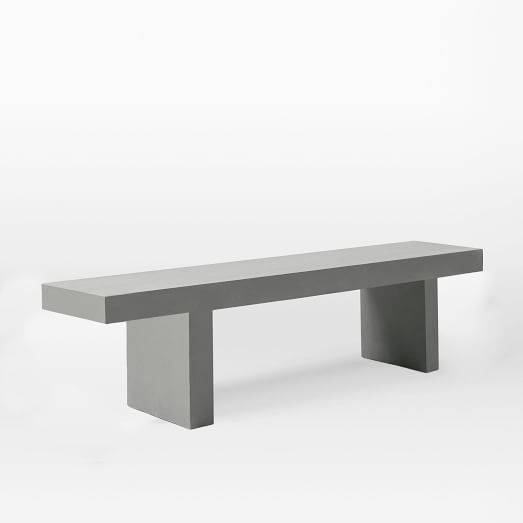 West elm/ Quarry dining bench $499 on sale for $199