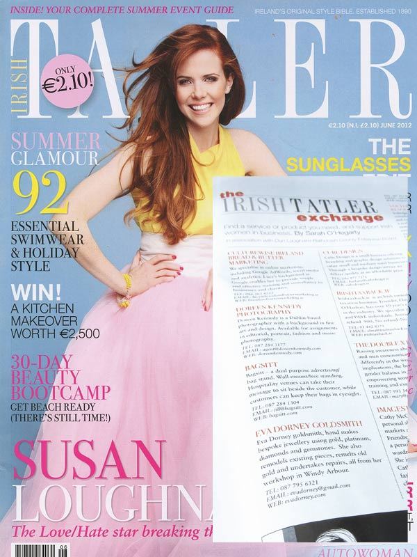 Irish Tatler Exchange June 2012 - Eva Dorney Goldmsith