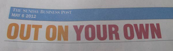 Out On Your Own - Sunday Business Post
