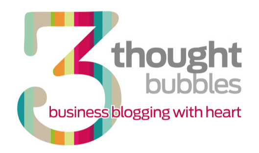 Three thought bubbles logo