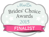 Brides Choice finalist 2015