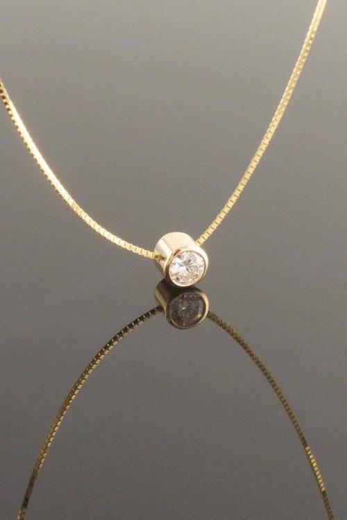 Eva dorney goldsmith contemporary handmade jewellery design bezel set diamond slider pendant mozeypictures Image collections