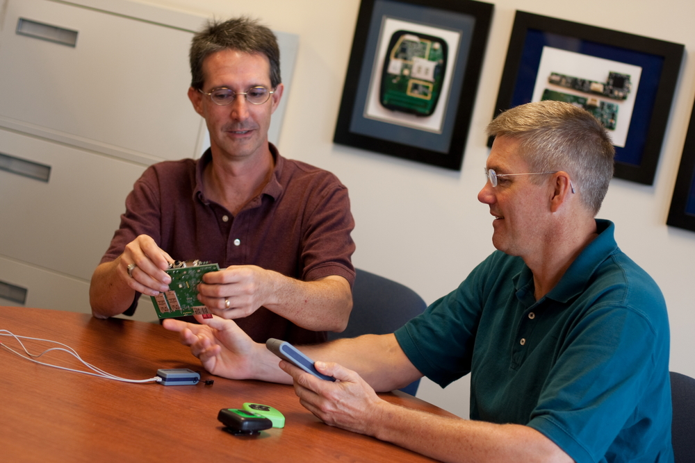 Chris Lamb and Bob Witter, Device Solutions, Morrisville, North Carolina
