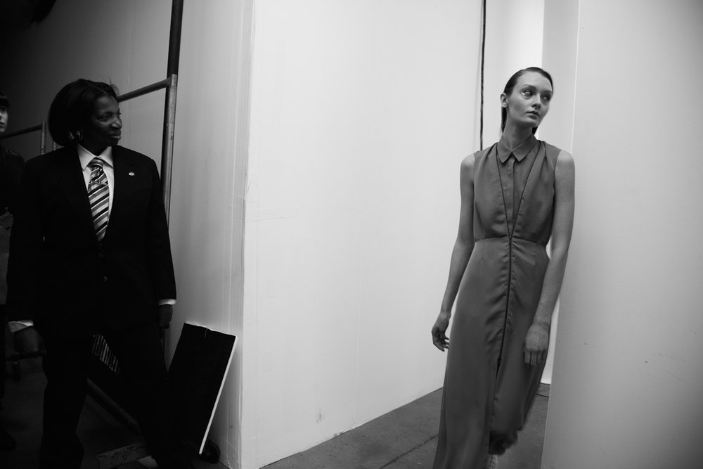 A look I styled for the Fall 2012 Ready-To-Wear show at NYFW. Image via Milk Studios.