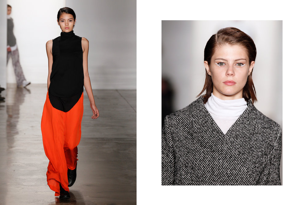 Looks I styled for the Fall 2012 Ready-To-Wear show. Images via Vogue.com.