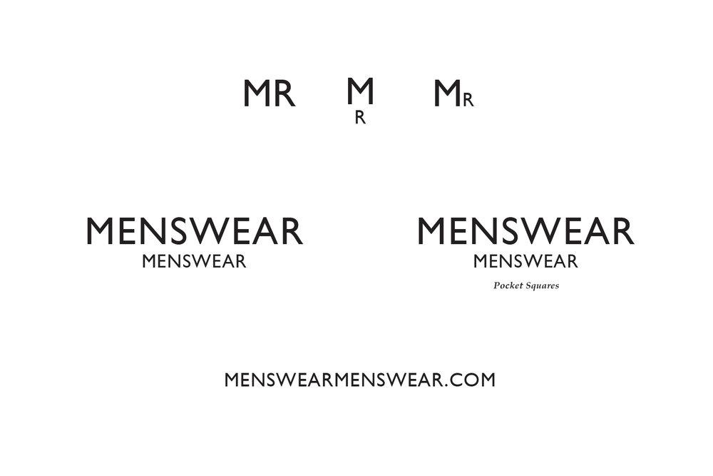 MenswearMenswear