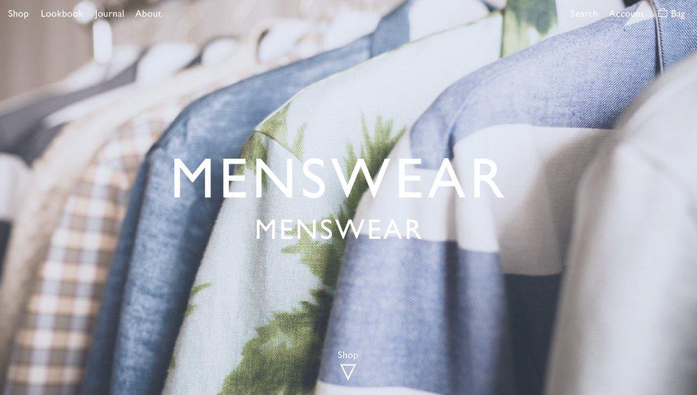 MenswearWebsite