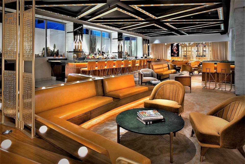 The Living Room Bar @ The W Las Vegas