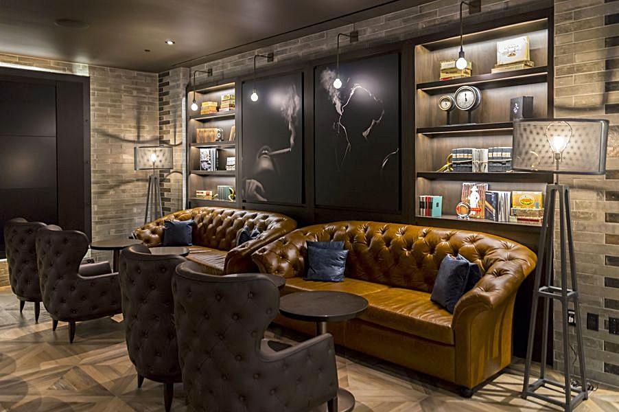 Montecristo Cigar bar @ Caesars Palace, Las Vegas