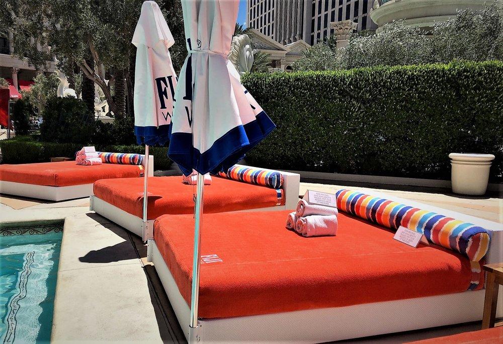 Venus European Pool Lounge @ Caesars Palace, Las Vegas