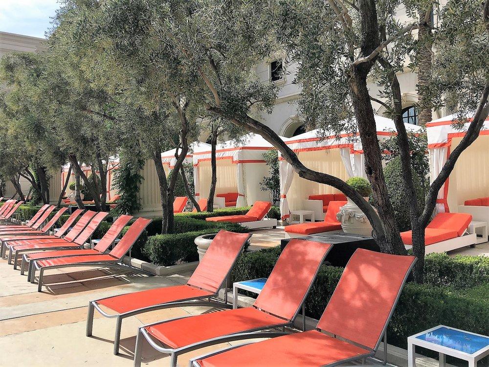 Venus European Pool Lounge @ Caesars Palace , Las Vegas