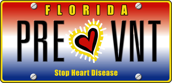 """GET YOUR """"STOP HEART    DISEASE"""" SPECIALTY         PLATE HERE"""