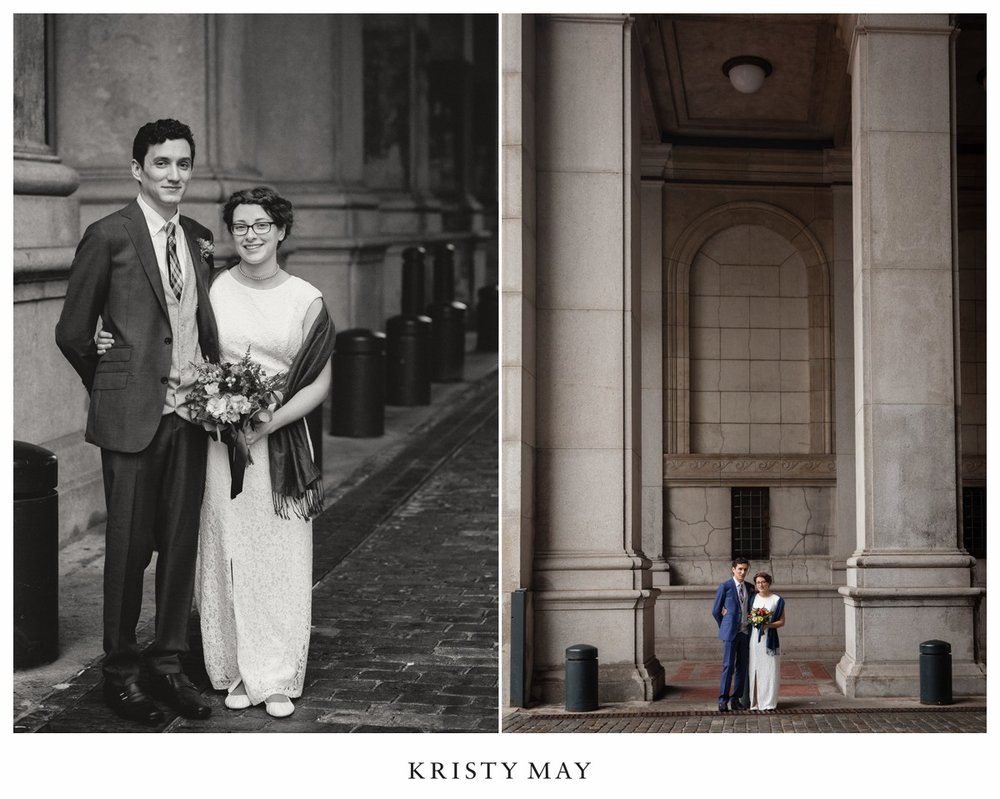 Classic NYC Wedding Portraits