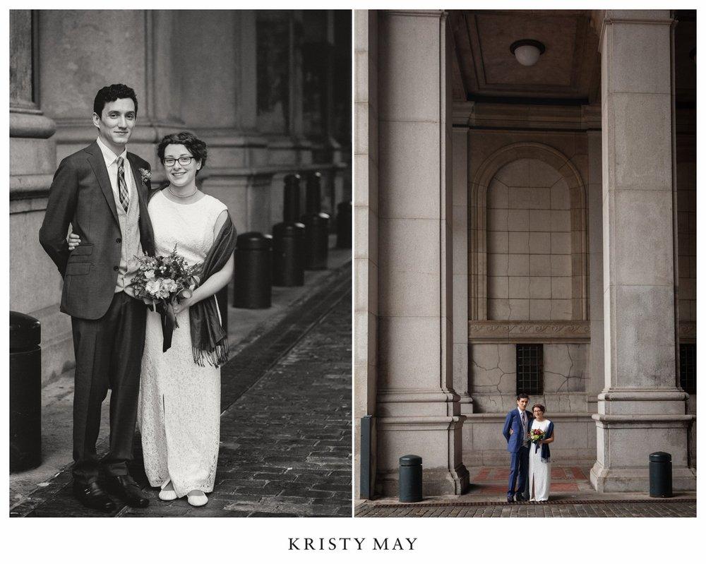 Classic NYC Wedding Portraits