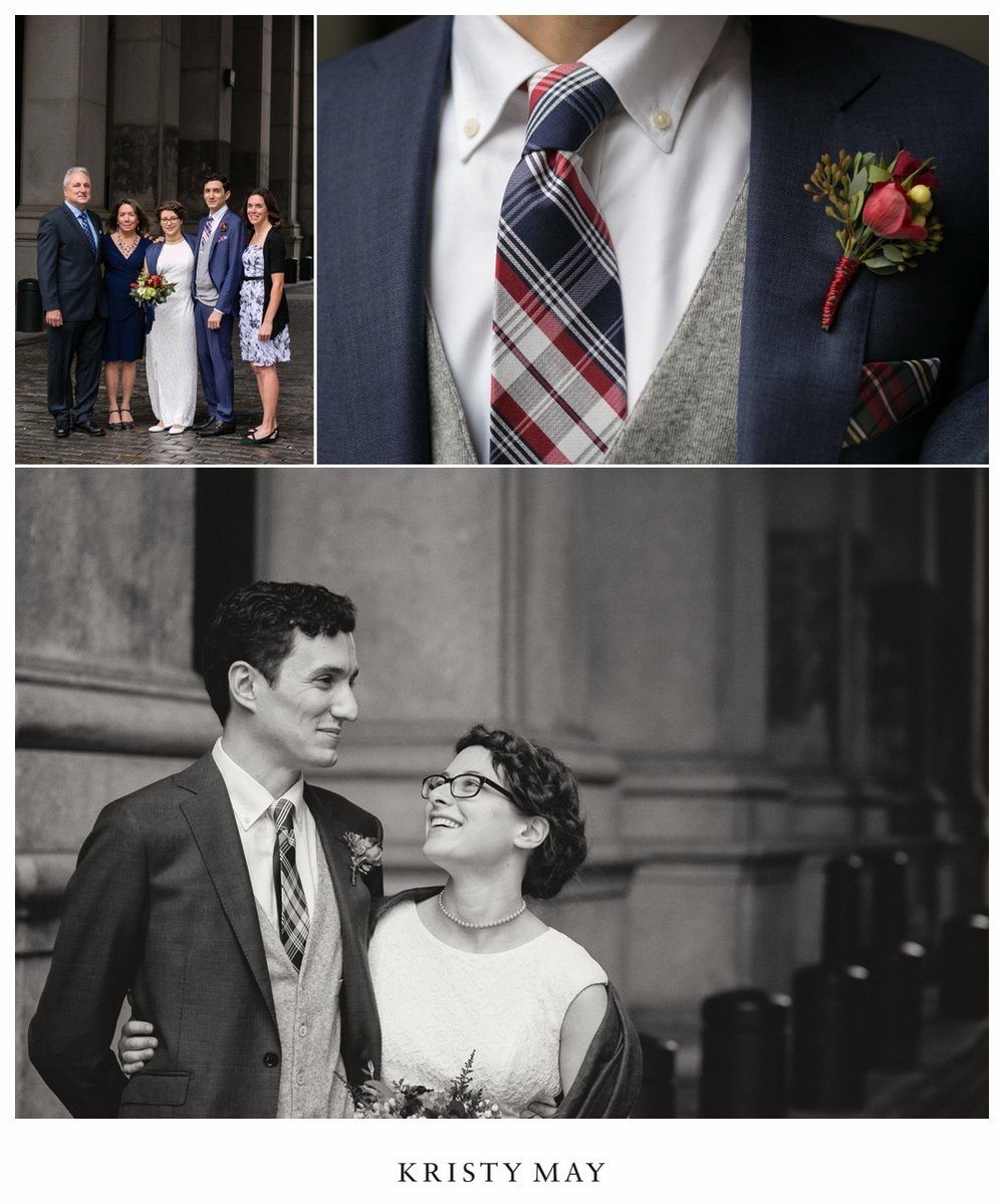 Municipal Building NYC Wedding Portraits