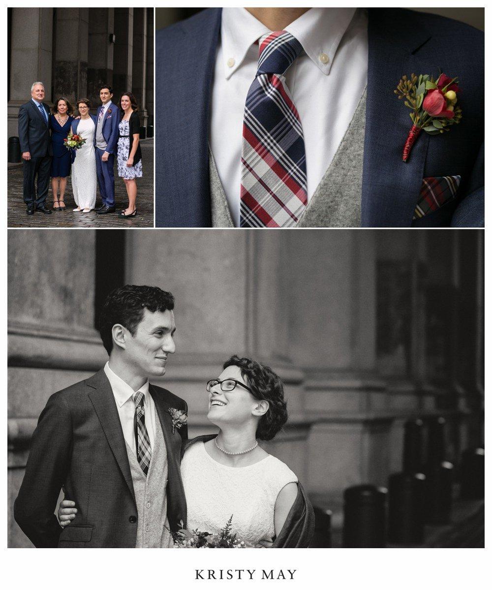 Municipal Building NYC Wedding Portraits