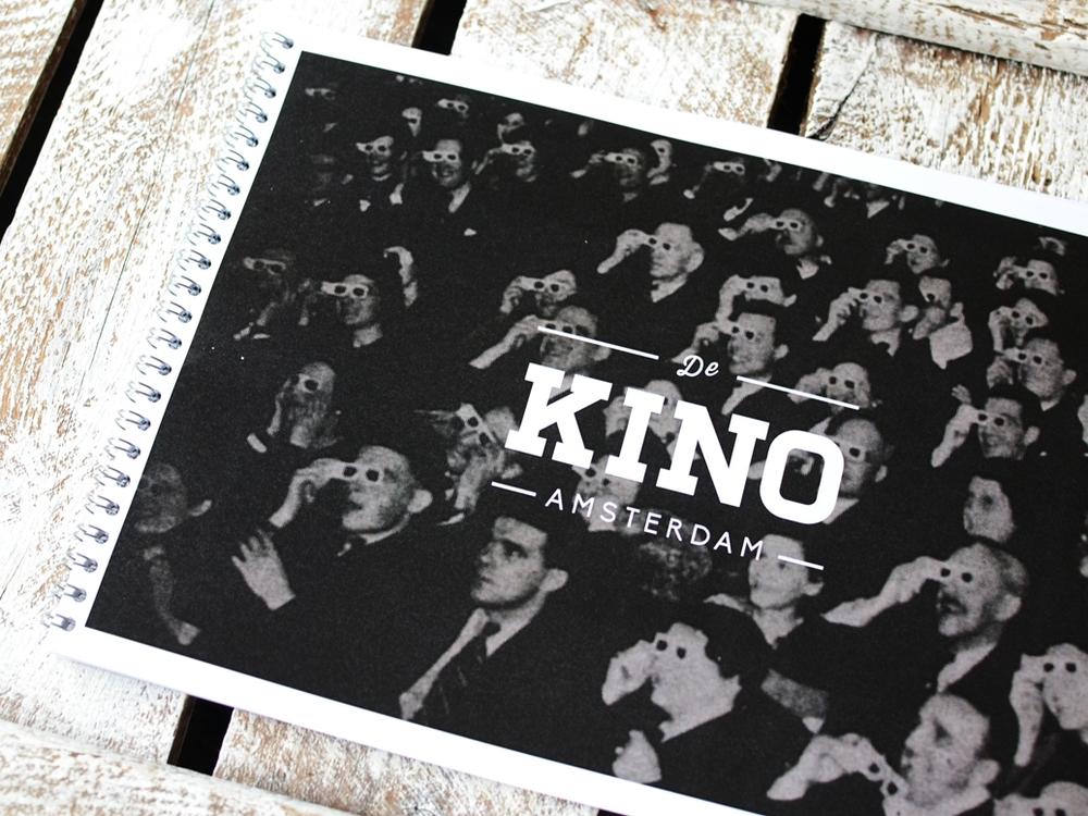 KINO | Brand identity, print design