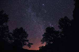 Night Sky Photo Time Lapse - Denise Talley