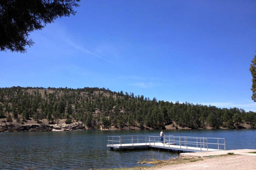 Copy of Lake Roberts fishing