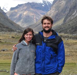 Daniel and Lindsay in Peru